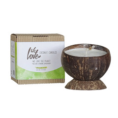 We Love The Planet Vegan Coconut soy wax candle Darjeeling Delight