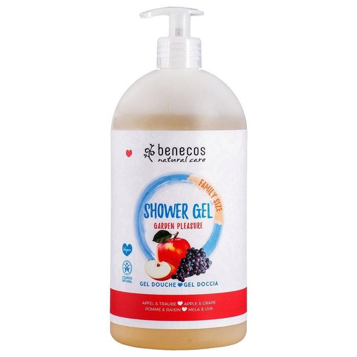 Benecos Natural Shower Gel FAMILY SIZE Garden Pleasure 950ml