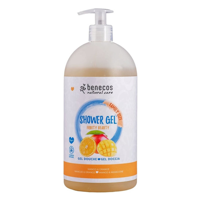 Benecos Natural Shower Gel FAMILY SIZE Fruity Beauty 950ml