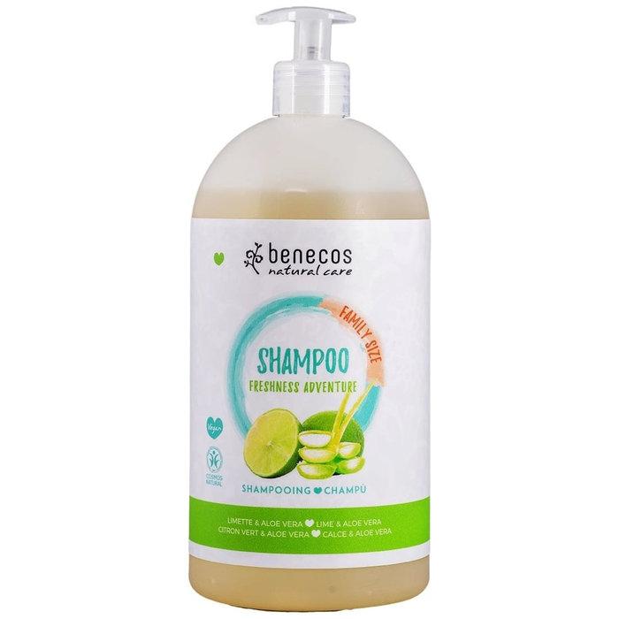 Benecos Natural Shampoo FAMILY SIZE Freshness Adventure 950ml