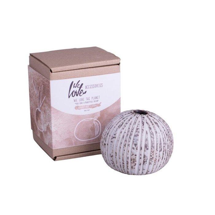 We Love The Planet Ceramic Vase Striped for diffuser sticks