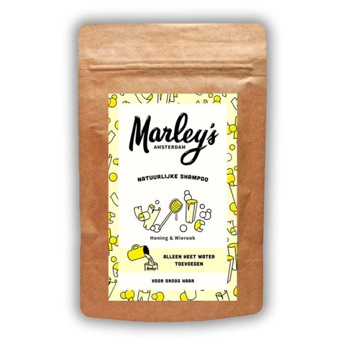Marley's Shampoovlokken droog haar – Honing & Wierook voor 450ml shampoo
