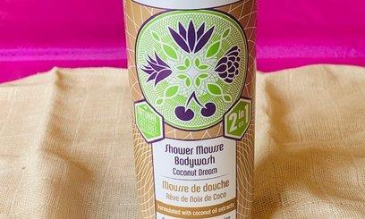 Review Human+ Kind Shower Mousse Bodywash Coconut Dream