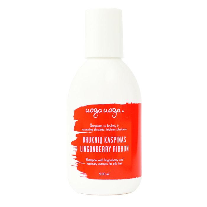 Uoga Uoga Vegan Shampoo Lingonberry Ribbon - voor vet haar