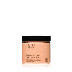 JOIK Organic Vegan Pink Grapefruit Sea Salt Scrub 240gr