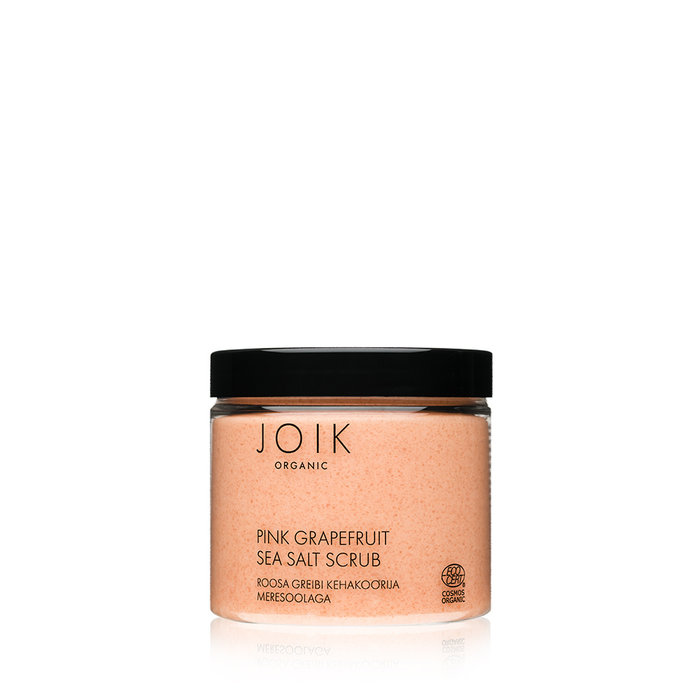 JOIK Organic Vegan Pink Grapefruit Sea Salt Scrub 240gr
