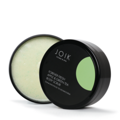 JOIK Vegan Forever Fresh Apple and Green tea bodyscrub 240 gr.