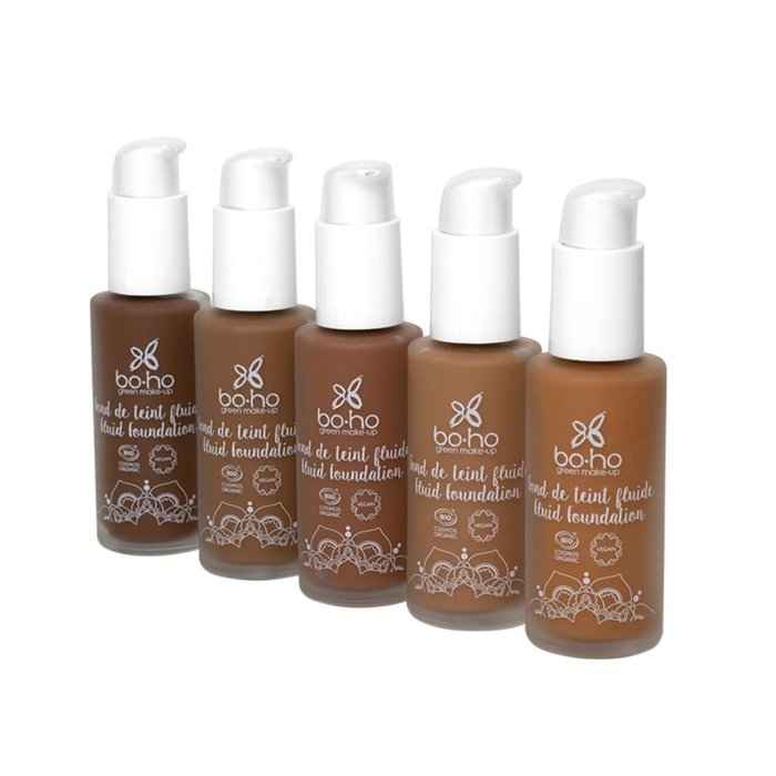 Boho Liquid Foundation 30ml 10 Cafe au Lait