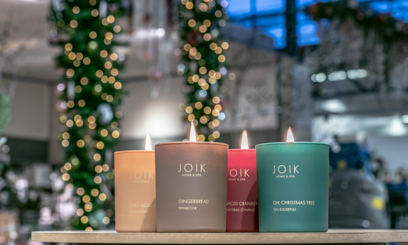 Nieuw: Joik de VEGAN Soywax Kerst & Winter geurkaarsen