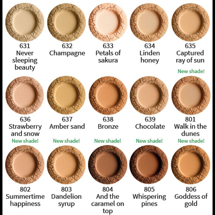 UOGA UOGA Foundation Powder 8g Amber Sand 637 SPF15