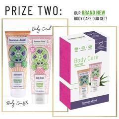 Human + Kind Cadeauset duo van Body Souffle 300ml en Body Scrub 300ml