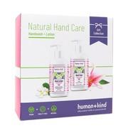 Human + Kind Duo van Vegan Handzeep 300ml en Vegan Handcrème 300ml