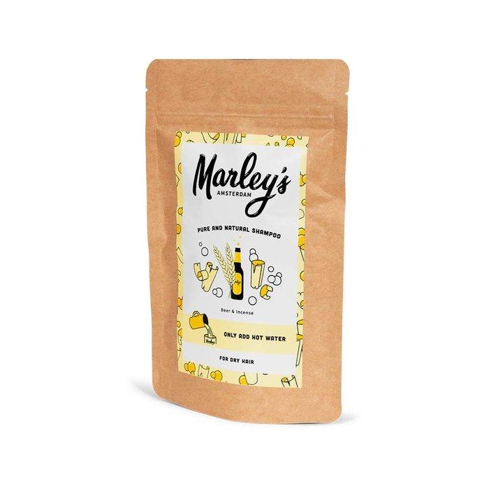 Marley's Shampoovlokken droog haar – Bier & Wierook voor 450ml shampoo