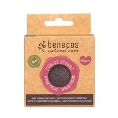 Benecos Natural Konjac Sponge - black bamboo
