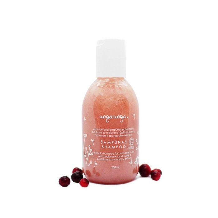 Uoga Uoga Vegan Shampoo Repair met hyaluronzuur - voor beschadigd haar 250ml