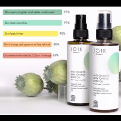 JOIK Organic Vegan Anti-Cellulite Skin Toning Body Oil 100ml PET bottle