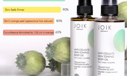 Enquête resultaten Joik organic anti cellulite oil