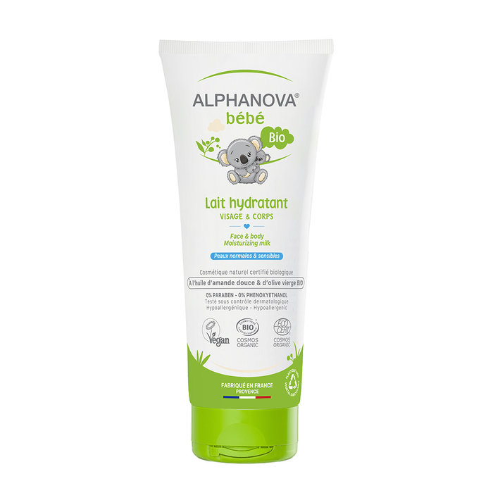 ALPHANOVA Bebe  Face & body moisturizing milk 200ml