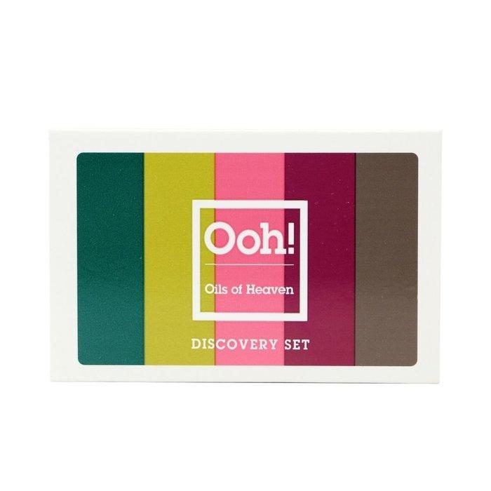 Ooh! - Oils of Heaven  Discovery set met gezichtsoliën 5x5ml