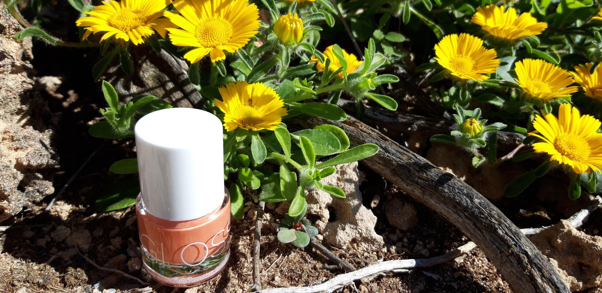 Review Glossworks natuurlijke  nagellak