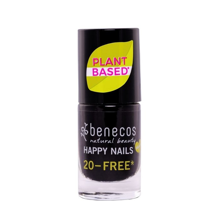 Benecos Vegan Nail Polish Licorice 20-FREE