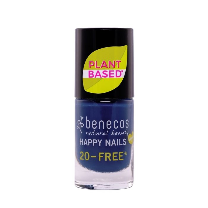 Benecos Vegan Nail Polish Nordic Blue 20-FREE