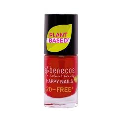 Benecos Vegan Nail Polish Vintage Red 20-FREE