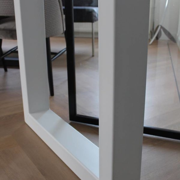 Tafelpoot U - tafelpoot 120x80 Wit