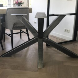 Tafelonderstel Matrix Leg 80x80 Natural