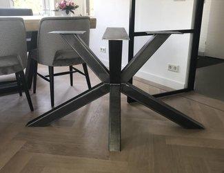Matrix tafelonderstel 80x80 Natural