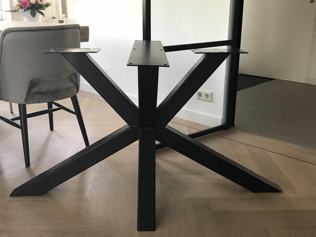 Industrieel Tafel Onderstel : Mister tafel staal tafel onderstel industriële look mistertafel