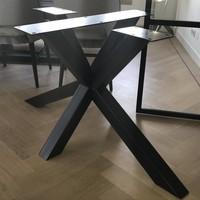 Tafelpoot Matrix Leg 80x80 Zwart