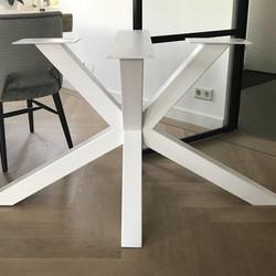 Tafelonderstel Matrix Leg 80x80 Wit