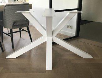 Matrix tafelonderstel 80x80 Wit