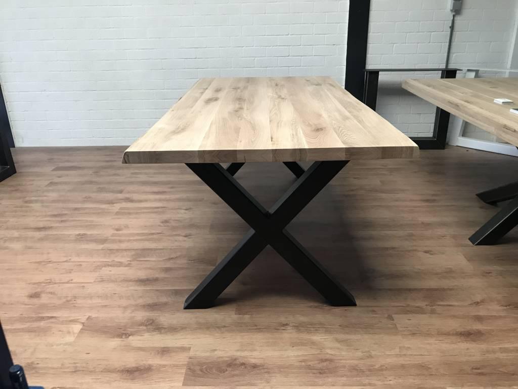 Tafel Van Boomstam : Mister tafel industriele eiken tafel mistertafel