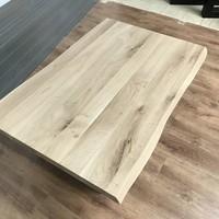 Salontafel eiken hout BOOMSTAM - U-LEG tafelonderstel