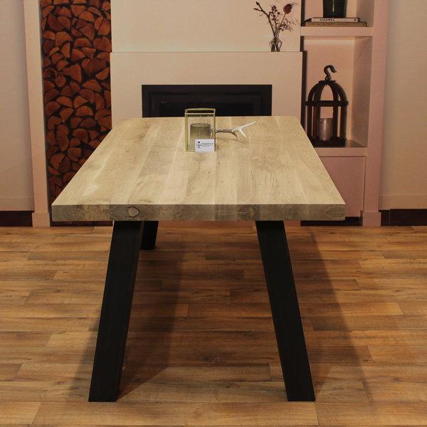 Eettafel eiken hout - Sam tafelonderstel