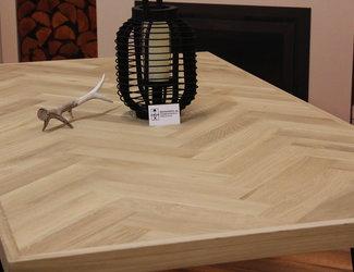 Visgraat tafelblad 1,60 x 0,90 meter