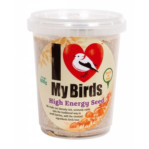 Jacobi Jayne I Love My Birds High Energy Zaden TubCake