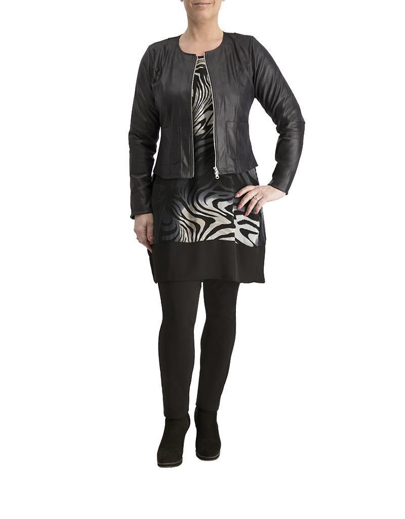 Ophilia Lara fake leather