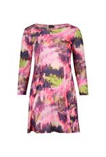 Ophilia Mesh dress print