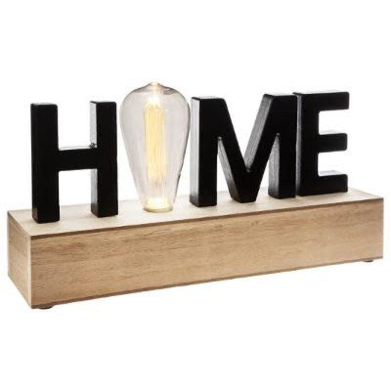 DECO HOUT LED HOME H17CM