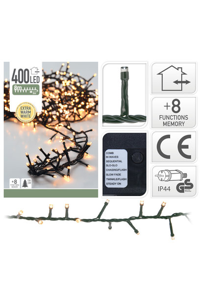 MICROCLUSTER 400LED EXTRA WW