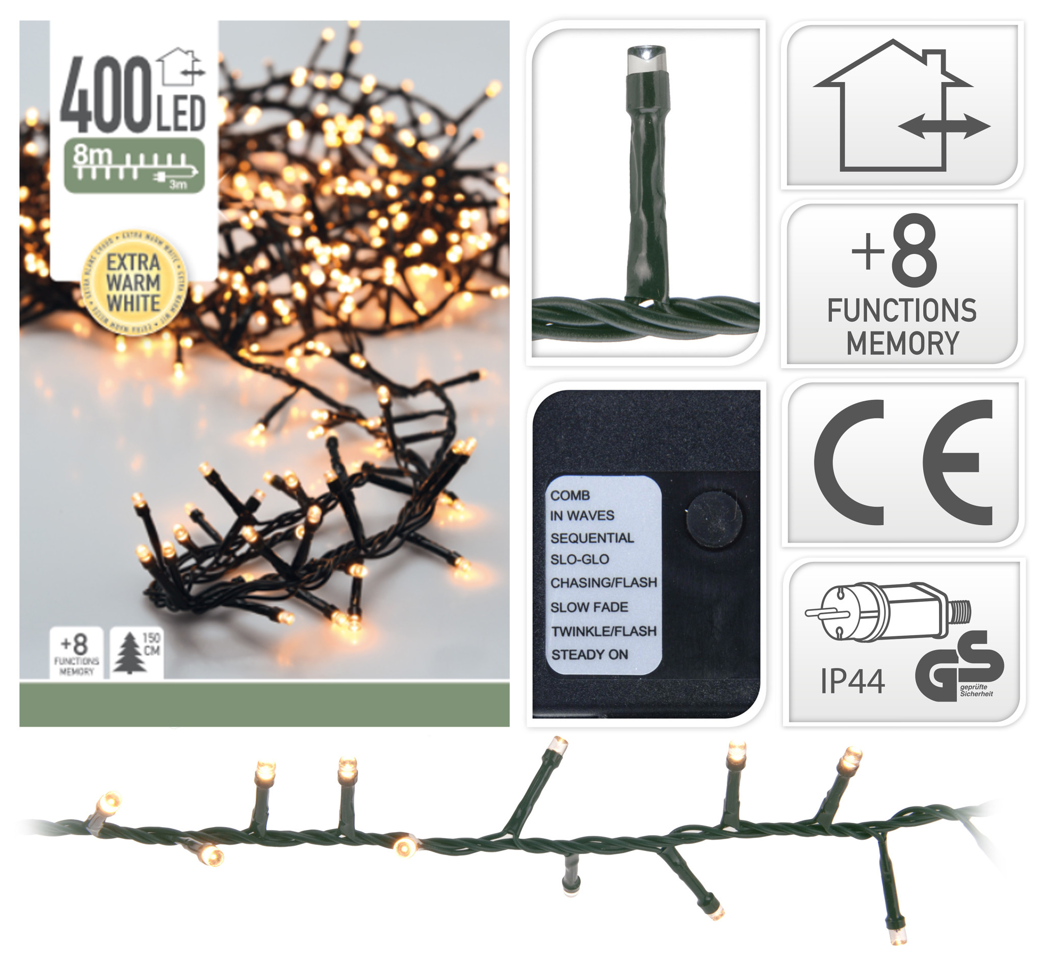 MICROCLUSTER 400LED EXTRA WW-1