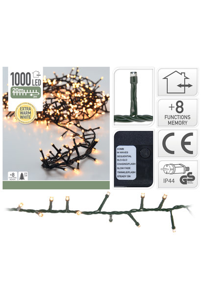 MICROCLUSTER 1000LED EXTRA WW