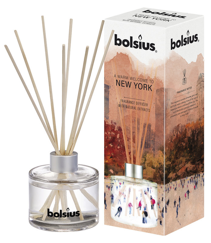 BOLSIUS DIFFUSER  100ML NEW YORK