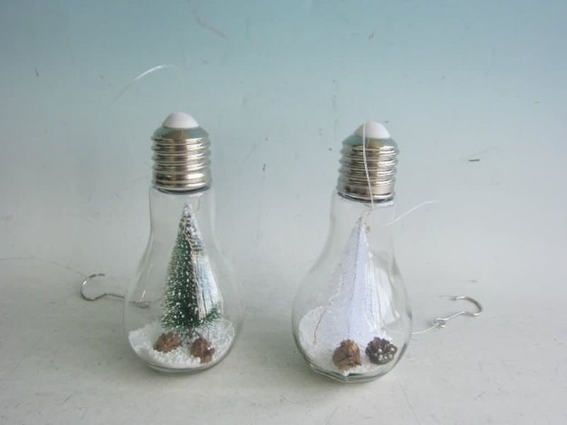 LAMP DECO XMAS LED 9X18CM