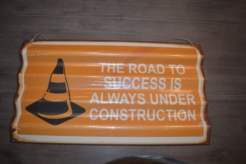 BORD ROAD TO SUCCES