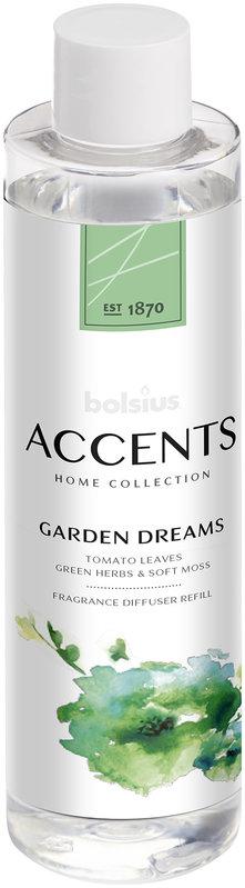 BOLSIUS ACCENT DIFFUSER REFILL  200ML  GARDEN DREAMS (12)