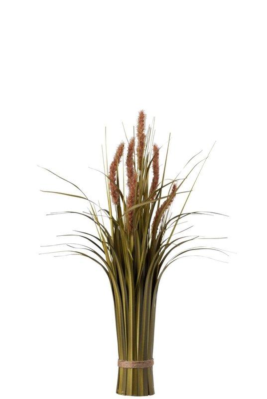 BUNDEL GRAS+STAART PL GRN/BR 40X40X62CM